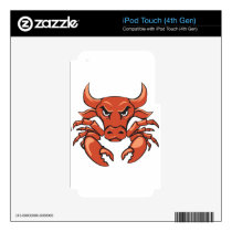 The crabull decal for iPod touch 4G