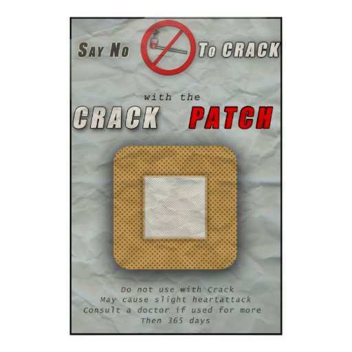 the crack patch poster