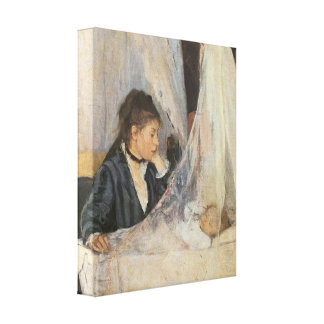 The Cradle, 1872 Canvas Print
