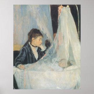 The Cradle, Berthe Morisot, Vintage Impressionism Print