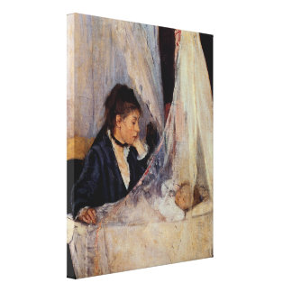 The Cradle by Berthe Morisot Canvas Print