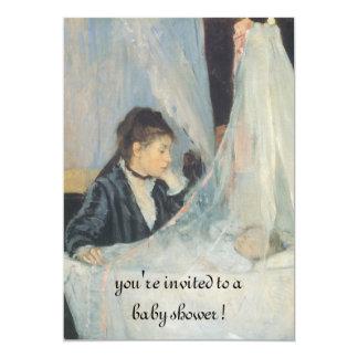 The Cradle by Berthe Morisot, Elegant Baby Shower Card