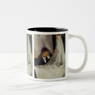 The Cradle by Berthe Morisot Two-Tone Coffee Mug