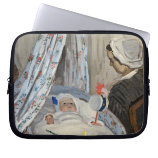 The Cradle Camille with the Artist s Son Jean Laptop Sleeves