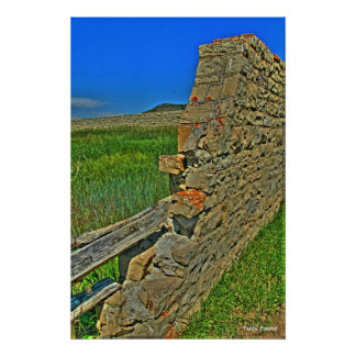 The Crag Eyrie Wall Poster