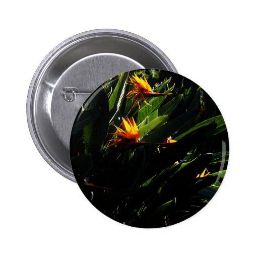 The Crane Flower Pins