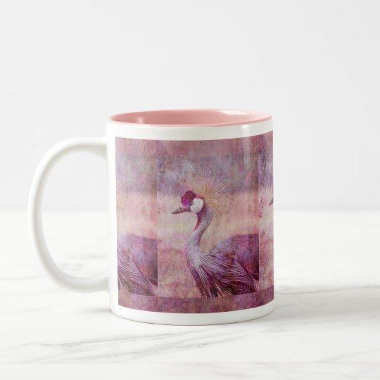 The Crane Two-Tone Coffee Mug