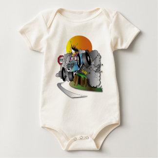 the crash baby bodysuit