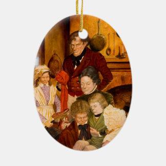 The Cratchit Family Ceramic Ornament