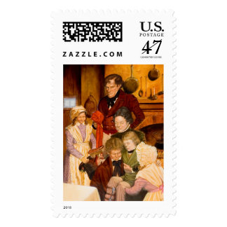 The Cratchit Family Postage