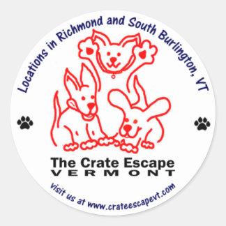 The Crate Escape Sticker