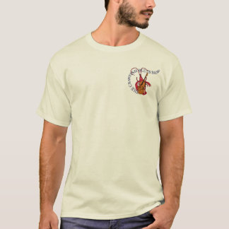 The Crawfish Blues Band (Double Bass Front) T-Shirt