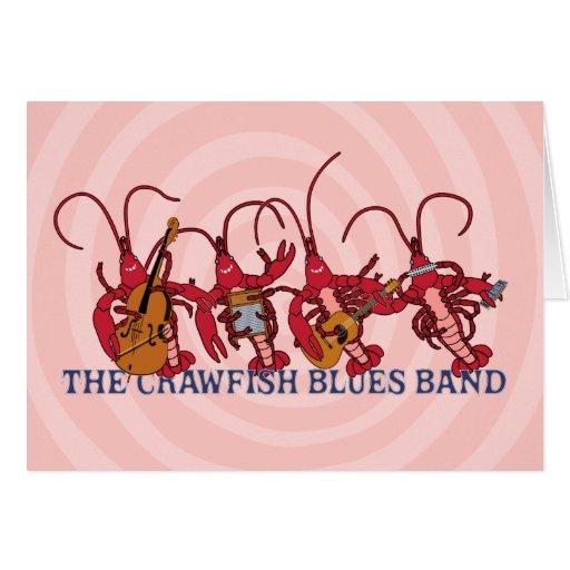 The Crawfish Blues Band Greeting Card