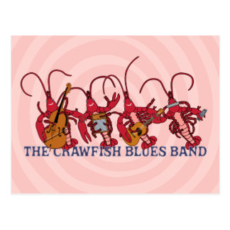 The Crawfish Blues Band Postcard
