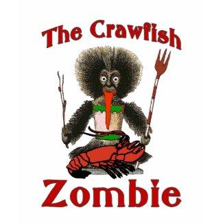 The Crawfish Zombie shirt