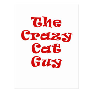 The Crazy Cat Guy Postcards