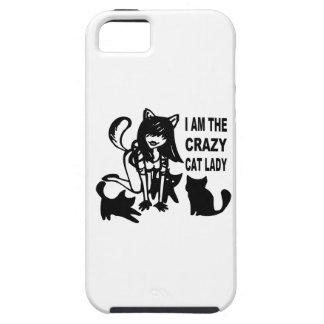The Crazy Cat Lady iPhone SE/5/5s Case
