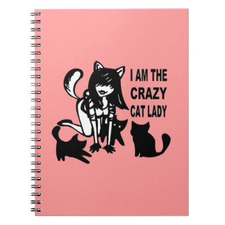 The Crazy Cat Lady Notebook