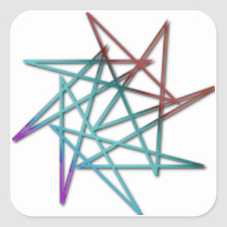 The Crazy Star Sticker