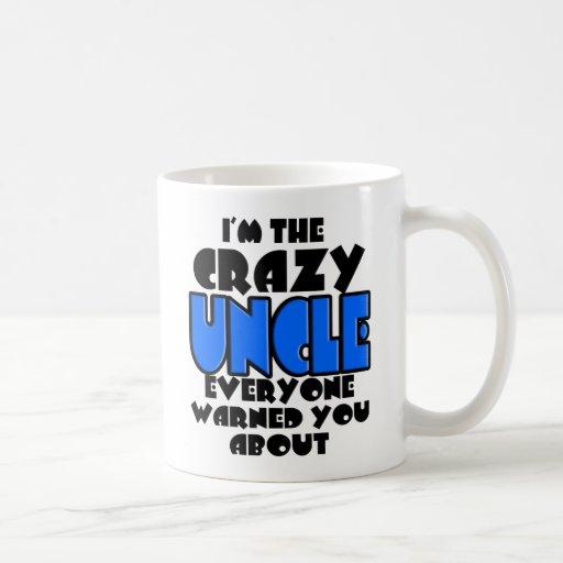 The Crazy Uncle Mug Basic White Mug
