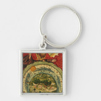 The Creation, from the Luther Bible, c.1530 Keychain