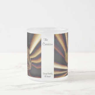 The Creation Frosted Glass Mug