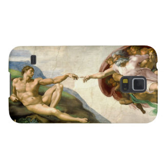 The Creation of Adam by Michelangelo Case For Galaxy S5
