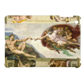 The Creation of Adam by Michelangelo Case For The iPad Mini