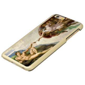The Creation of Adam by Michelangelo Incipio Feather Shine iPhone 6 Plus Case