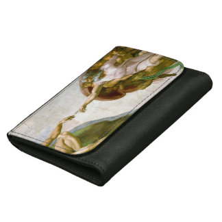 The Creation of Adam by Michelangelo Wallet