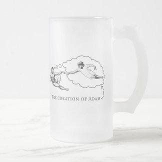 The Creation of Adam (god) Coffee Mugs