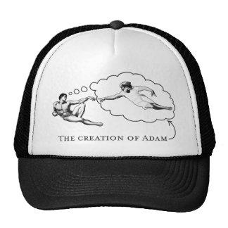 The Creation of Adam (god) Trucker Hat