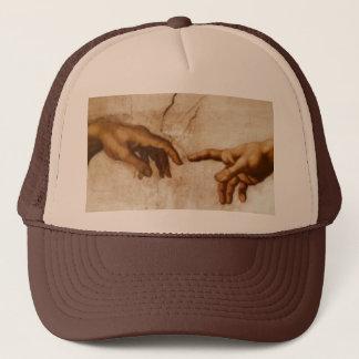 The Creation of Adam Trucker Hat