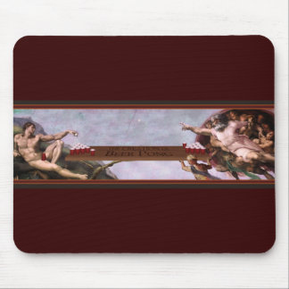 The Creation of Beer Pong Mouse Pad