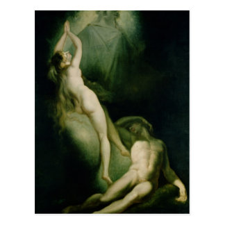 The Creation of Eve, 1791-93 Postcard