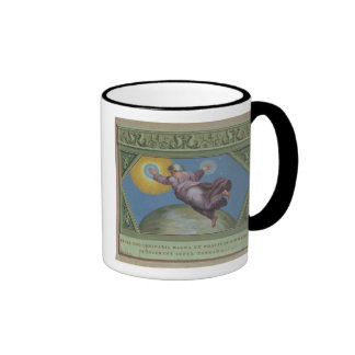 The Creation of Light, illustration from the Rapha Mugs
