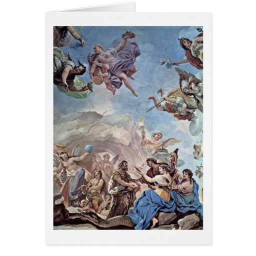The Creation Of Man By Luca Giordano Cards