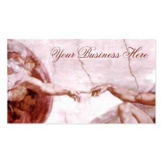 The Creation of Man Prometheus Greek Mythology Double-Sided Standard Business Cards (Pack Of 100)