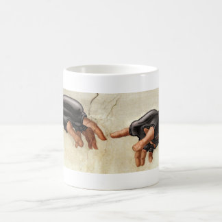 The Creation of MMA Coffee Mug