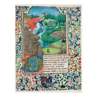 The Creation World, from 'Traite de Medecine' Postcard