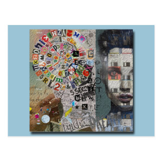 The creative mind postcard