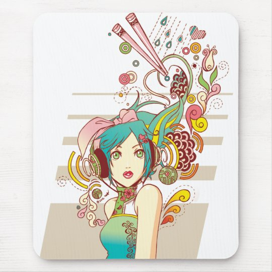 The Creativity mousepad