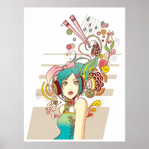 The Creativity Poster Print print