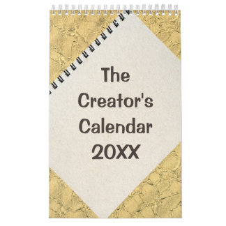 The Creator's Nudges and Notes Template Calendar