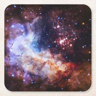 The Creators Throne Square Paper Coaster