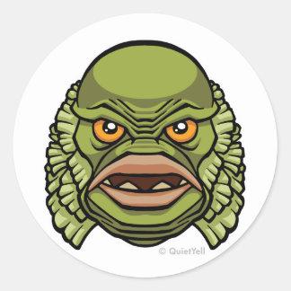 The Creature Classic Round Sticker