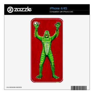THE CREATURE DECALS FOR iPhone 4S