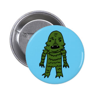 The Creature from the Black Lagoon 2 Inch Round Button