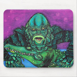 The Creature Lives Mouse Pad