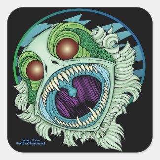 The Creature Square Sticker